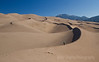 Walking on the Dune Edge, Great Sand Dunes National Park