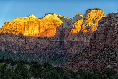 Zion Valley Sunrise Series, Number 6