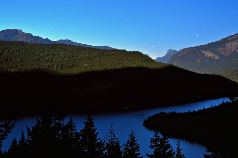 Ross Lake Lunar Twilight Blues