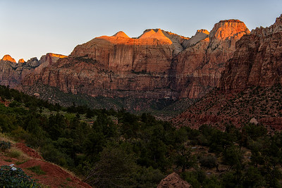Zion Valley Sunrise Series, Number 1