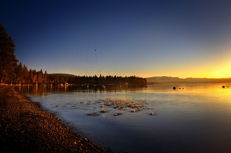 Kinetic Tahoe Sunrise Splashes