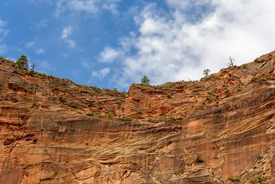 Hikers on Angel's Landing