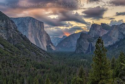 Yosemite Valley, Dawn 4