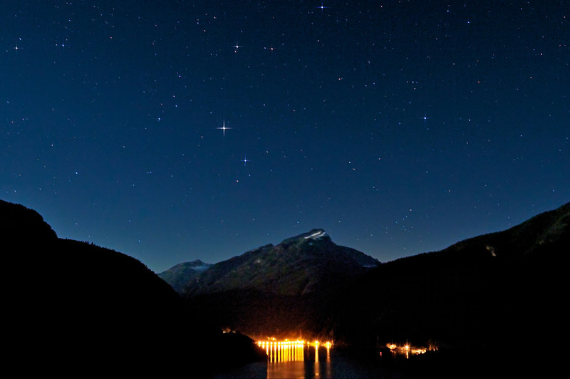 North Cascades National Park Starry Night