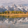 Fall Colors at Schwabacher Landing
