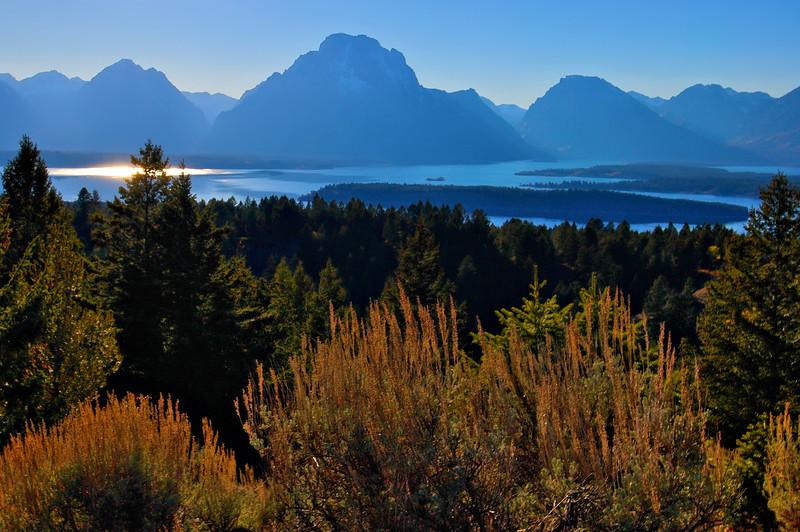 Jackson Lake from Signal Mountain
