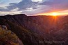 Black Canyon Sunset, Black Canyon of the Gunnison National Park