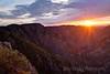 Black Canyon Sunset, Black Canyon of the Gunnison National Park