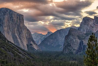 Yosemite Valley, Dawn 6