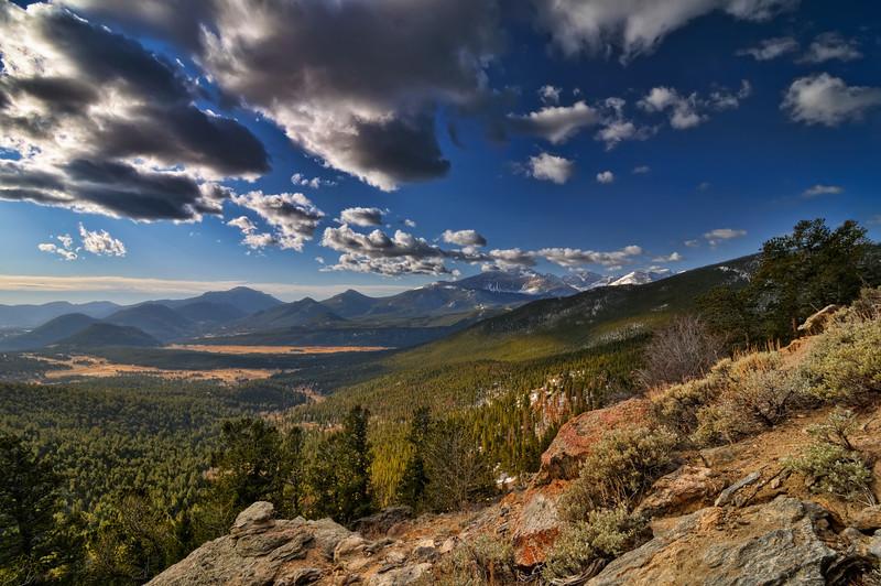 Rocky Mountain NP Cloud Circus