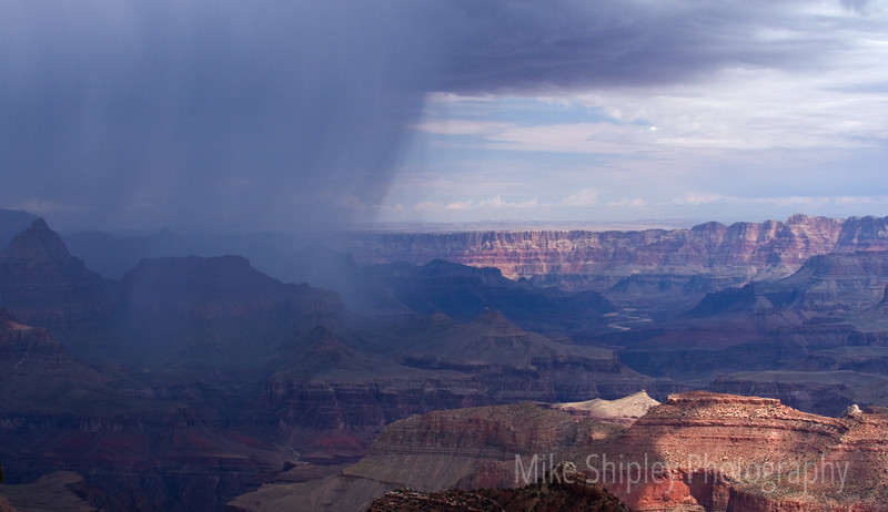Storm Over the Canyon, Grand Canyon National Park