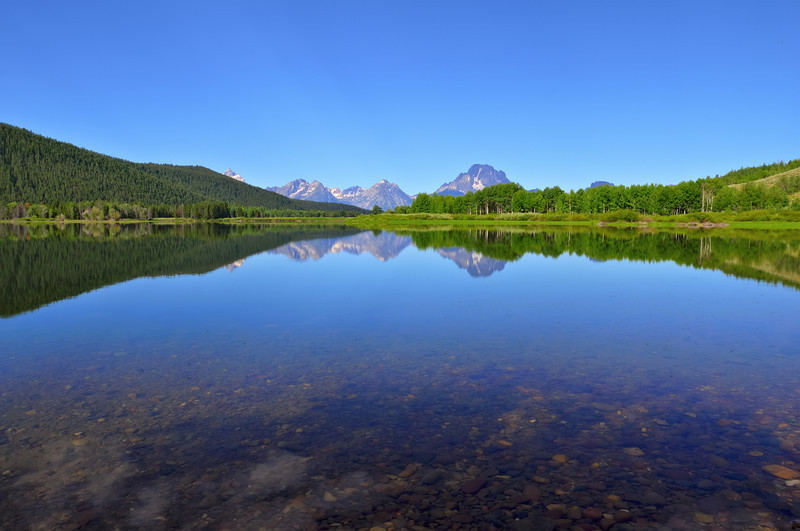 Summertime Depth Sounding at Oxbow Bend