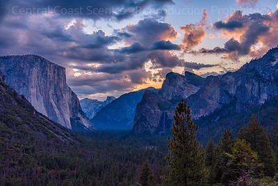 Yosemite Valley, Dawn 1
