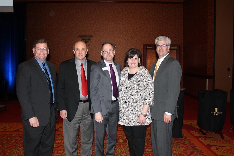 Glenn Wernke, Steve Cunningham, Jamey McGaugh, Jill Wager, Bill Hickey 1