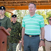 Bill Fletcher at Connaught Cadet Training Centre on July 28, 2017 at opening of the Terry Whitty Air Rifle Range.    Photo credit: Captain Grant Cree, Unit Public Affairs Representative. Connaught Cadet Training Centre.  Credit Photo: capitaine Grant Cree, représentant des affaires publiques de l'unité. Centre d'entrainment des cadets Connaught. © 2017 DND-MDN Canada
