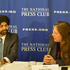 Ajay Banga and Andrea Edney