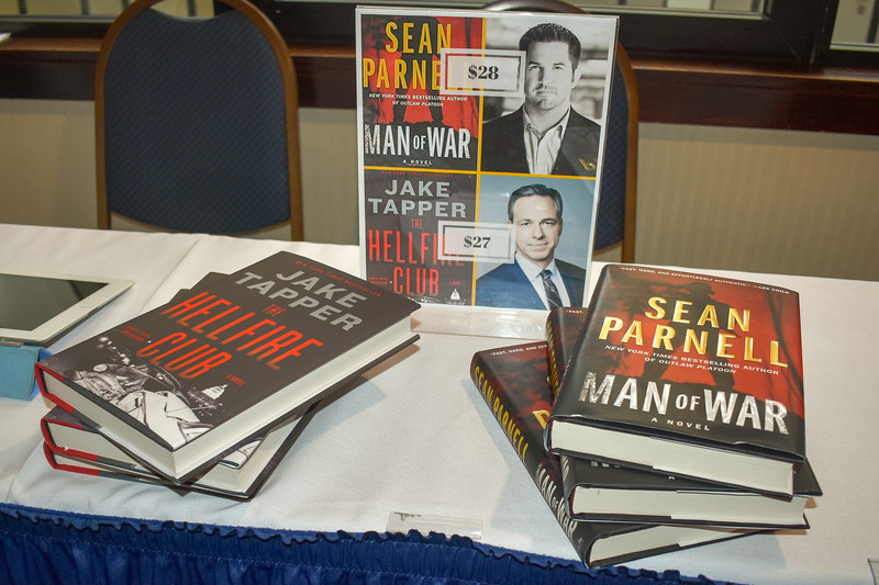 Sean Parnell - Jake Tapper book event