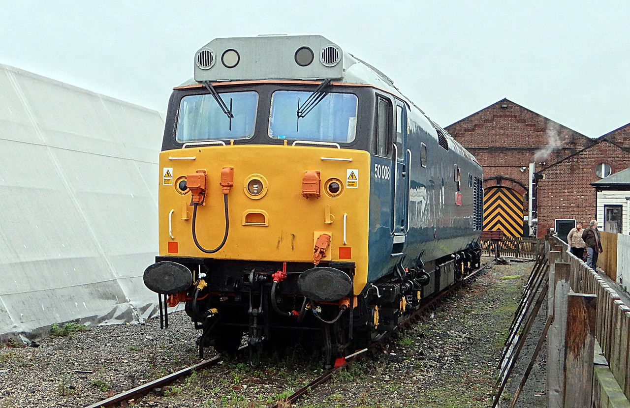BR 50008'Thunderer EE Co-CoDE 22,10,2012 (Now At Boden Rail Birmingham)