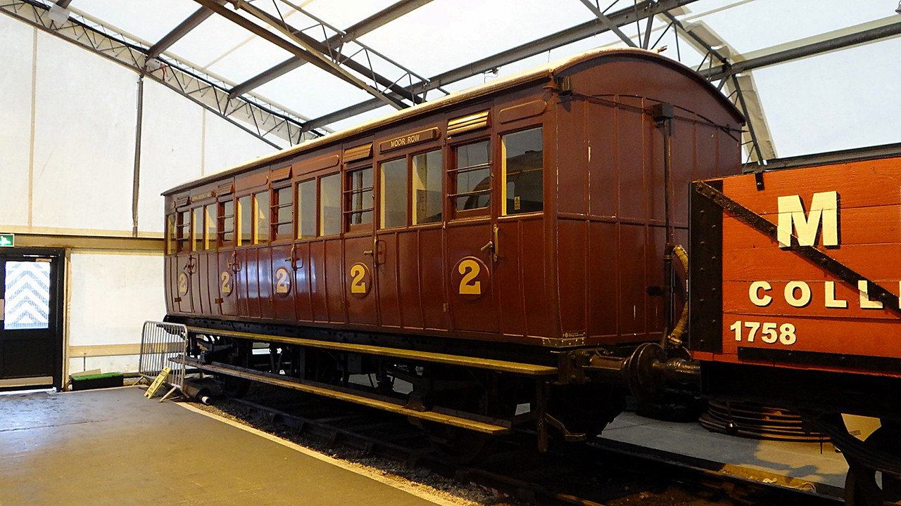 NLR Four-wheel Second Body Only UF SR PMVY 1496 22,10,2012 Now At Ribble Steam Railway)