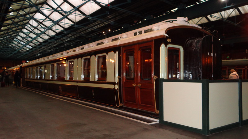 LNWR 800 King Edward's Saloon 22,10,2012