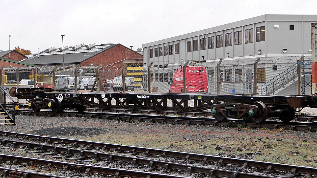BR 601403 Bogie Long Container Flat 22,10,2012