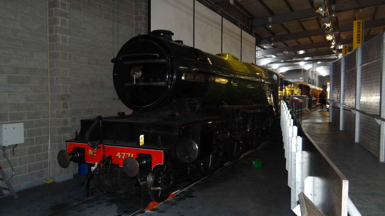 ST 4771 ,Green Arrow' Don 2-6-2  22,10,2012 (Now At Shildon Railway Museum)
