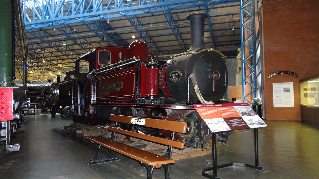 ST No3 'Livingstone Thompson'FRCo 0-4-4-0T 22,10,2012
