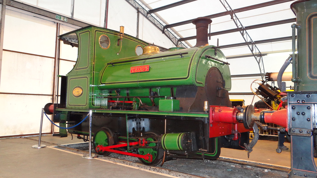 ST 2012 'Teddy' P 0-4-0ST 22,10,2012 (Now At Chasewatwe Railway)