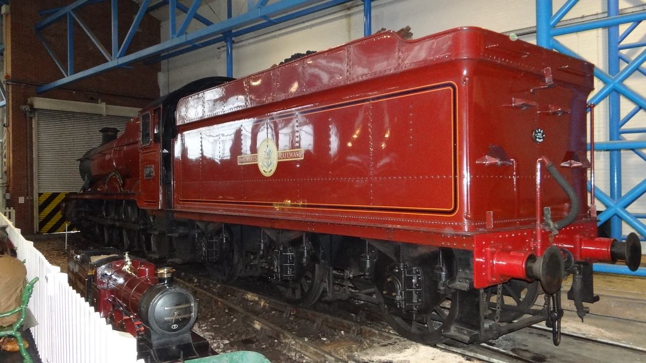 ST 5972 'Hogwarts Castle' Sdn 4-6-0  22,10,2012 (Now At The Warner Bros Studio Watford)