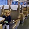 Toto je vagón Tokaido Shinkansen z Japonska