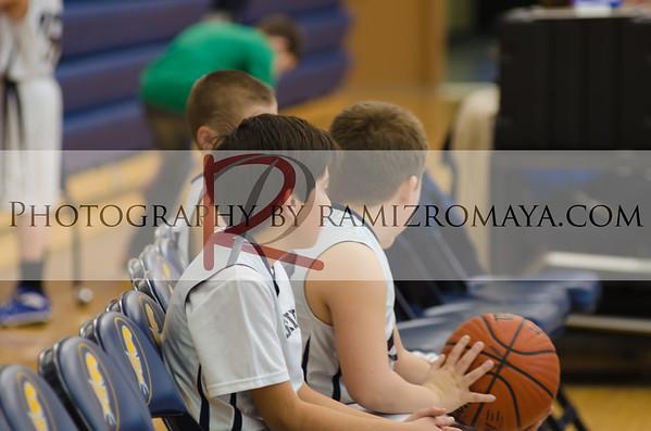 Shrine 5th Grade Boys Basketball 2-9-13