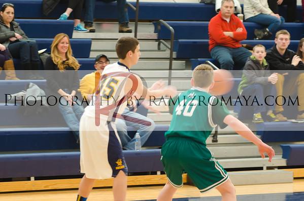 Shrine 8th Grade Boys Basketball 2-9-13
