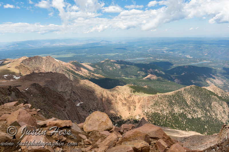 America the Beautiful was inspired by the views from the top of Pike's Peak.  I can see why!