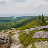 On the top of Mount Cadillac in Acadia National Park.  *HDR