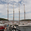 The Margaret Todd Schooner in Bar Harbor, Maine.