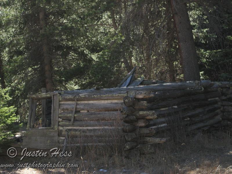 Cabin Ruins at Deserted Village.