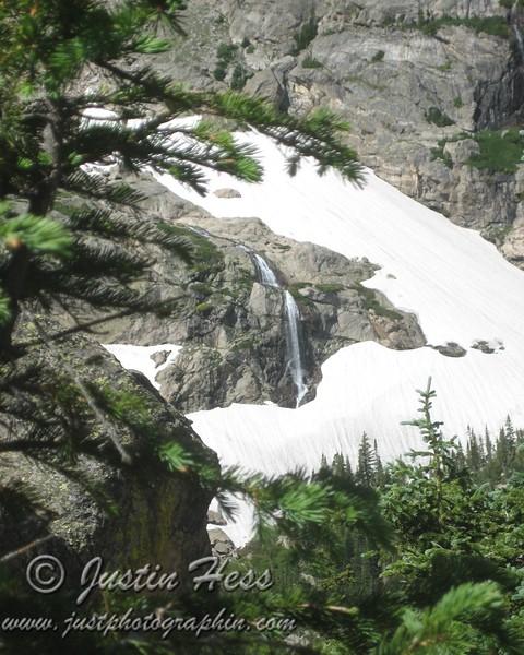 Framed Grace Falls