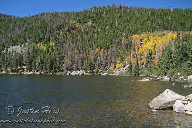 Fall color at Bear Lake.