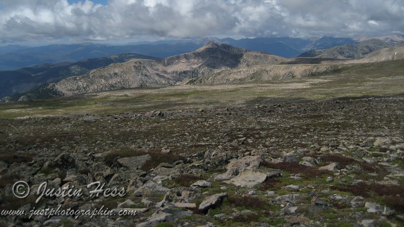 The summit of Flattop.