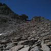 Approaching the Keyhole from the Boulder Field.