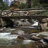 Bridge over The Pool - Fern Lake Trail.