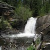 West Creek Falls in Rocky Mountain National Park.