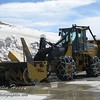 One of the large snow blowers that they use to clear Trail Ridge Road.