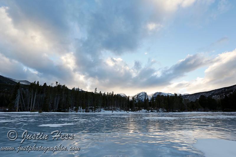 Icy trek, again.  *HDR Shot