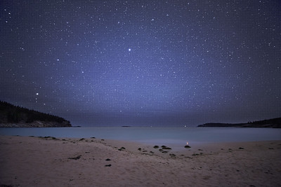Starry sky at Sand Beach