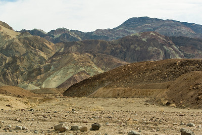 Artists Palette Road, Death Valley