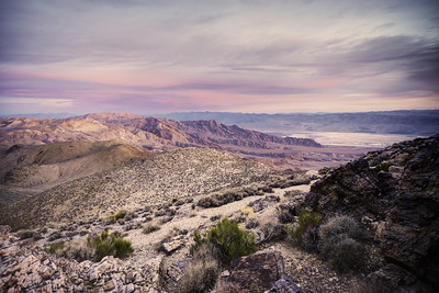 Western side of Augerberry Point, Death Valley NP, CA