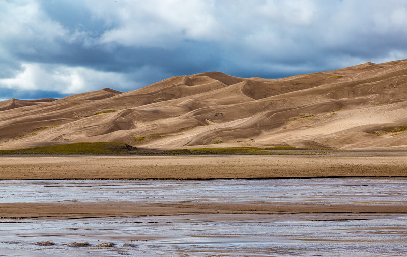 Dunes on Medano Creek