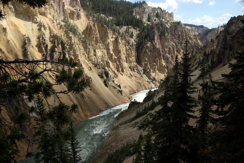 Grand Canyon of the Yellowstone from the South Rim Trail