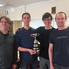 2017 winners - Kieran Dyke, Michael Byrne, Toby Nonnenmacher & Ed Jones
